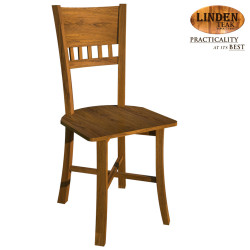 Handcrafted Gold Teak 026 Dining Chair (Gold Teak Series Indoor Design) image here