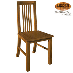 Handcrafted Gold Teak 306 Dining Chair without Arm (Gold Teak Series Indoor Design) image here