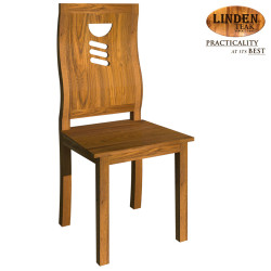 Handcrafted Gold Teak 633 Dining Chair (Gold Teak Series Indoor Design) image here