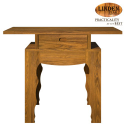 Handcrafted Gold Teak Pencing Console Table (Gold Teak Series Indoor Design) image here