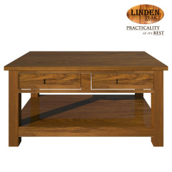 Handcrafted Gold Teak Minimalist Solid Center Table (Gold Teak Series Indoor Design)  GT-SS-MINCT image here