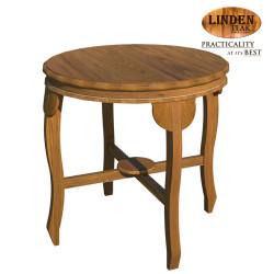 Handcrafted Gold Teak Lenong Side Table (Gold Teak Series Indoor Design)  GT-SS-LENST image here