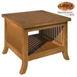 Handcrafted Gold Teak 092 Side Table (Gold Teak Series Indoor Design)  GT-SS-092ST image here