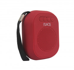 Nuvos Electronics,Nuvos Tango Neo 2 Bluetooth Speaker w/ FM,Red,NU00TNGORED image here