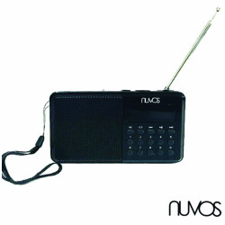 Nuvos Compact Portable Radio w/ Bluetooth Function image here