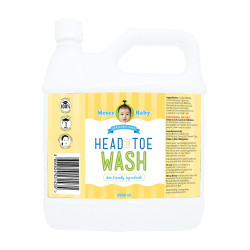 Messy Bessy Messy Baby Head To Toe Wash 2000ml,yellow,BB-HTWX2000 image here
