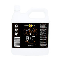 Messy Bessy Messy Man Hair Face Body Wash 2000ml,black,MN-HFBX2000 image here