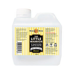 Messy Bessy The Little Warrior Sanitizer Bergamot 500ml,yellow,PC-TLWBER500 image here