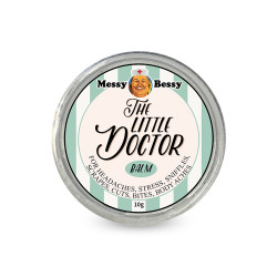 Messy Bessy The Little Doctor Balm 10g,white,PC-TLDX10g image here