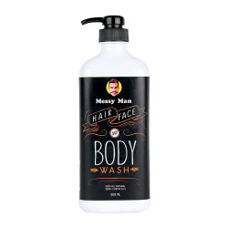 Messy Bessy Messy Man Hair Face Body Wash 500ml image here