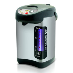Imarflex Ph, 3.6 Liters Electric Airpot,Stainless/Black, IP-360DMS image here