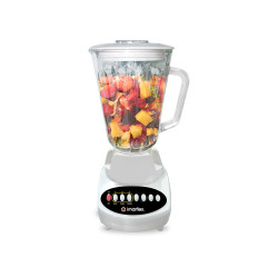 Imarflex Ph, 1250ml Blender w/ Food Processor, White, IB-350FG image here