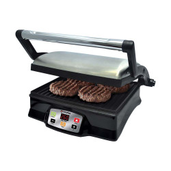Imarflex Ph, 530cm2 Digital Panini Grill, Stainless/Black, IPG-520D image here