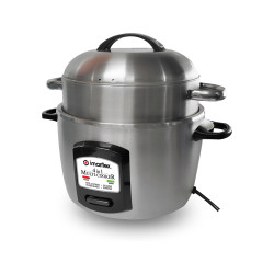 Imarflex Ph, 6 Cups Multi-cooker, Stainless, IMC-3100S image here