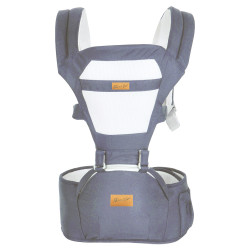 MIMIFLO 5-in-1 Hip Seat Carrier (Navy Blue) image here
