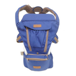 MIMIFLO 8-in-1 Hip Seat Carrier Blue image here