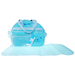 MIMIFLO 104 Diaper Bag (Blue) image here