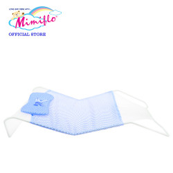 MIMIFLO Baby Bath Bed - Net (Blue), 4800172384719B image here