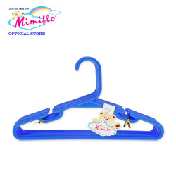 MIMIFLO 535 Children's Hanger Set of 12's BLUE,MM535CH12SB image here