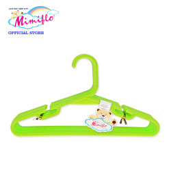 MIMIFLO 535 Children's Hanger Set of 12's Green,MM535CH12SG image here