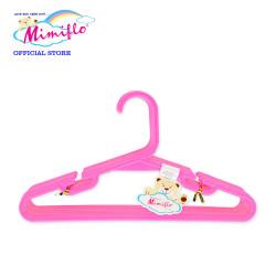 MIMIFLO 535 Children's Hanger Set of 12's Pink,MM535CH12SP image here