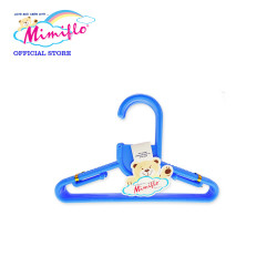 MIMIFLO 717 Baby Hanger Set of 12's Blue,MM717BH12SB image here