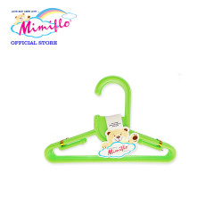 MIMIFLO 717 Baby Hanger Set of 12's Green,MM717BH12SG image here