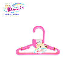 MIMIFLO 717 Baby Hanger Set of 12's Pink,MM717BH12SP image here