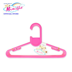 MIMIFLO 727 Children's Hanger 12's Pink,MM727CH12P image here