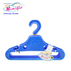 MIMIFLO 747 Bambi Baby Hanger Set of 12's Blue, 4800172074702B image here