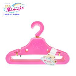 MIMIFLO 747 Bambi Baby Hanger Set of 12's Pink, 4800172074702P image here