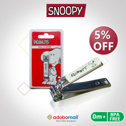 BPA FREE Snoppy Nail Clipper image here