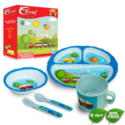 Coral Babies 5pc Meal Set image here