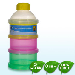 Coral Babies 3 Layer Milk Powder Container - BPA FREE image here