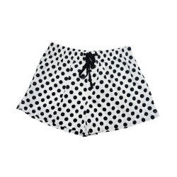 BIOFRESH BOXER SHORTS BIG POLKA BLACK ULBS9-1 image here