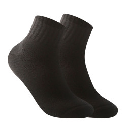 BURLINGTON HALF TERRY ANKLE SOCKS BLACK BML-222 image here