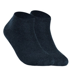 BURLINGTON HALF TERRY ANKLE SOCKS GRAY BML-219 image here