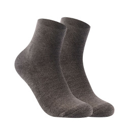 BURLINGTON ANKLE SOCKS GRAY 142 image here