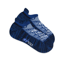 BURLINGTON INVISOLE ANKLE SOCKS INSIGNA BLUE XMVS1801 image here