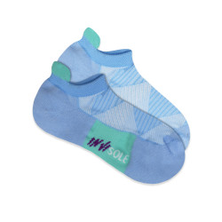 BURLINGTON INVISOLE ANKLE SOCKS LIGHT BLUE XLVS1804 image here