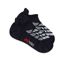 BURLINGTON INVISOLE ANKLE SOCKS BLACK XMVS1801 image here