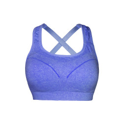 BIOFRESH CROSS STRAP SPORTS BRA VIOLET ULBR02 image here