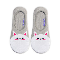 OMO ANKLE SOCKS LIGHT GRAY OLCF1 image here