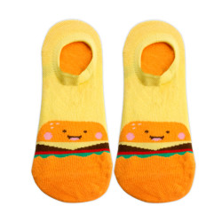 OMO ANKLE SOCKS LIGHT YELLOW OLCF6 image here