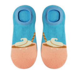 OMO ANKLE SOCKS LIGHT BLUE OLCF8 image here