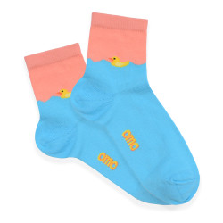 OMO ANKLE SOCKS TURQOUISE OLCK1812 image here