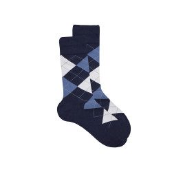 BALLY PREMIUM SOCKS NAVY YMCK39  image here
