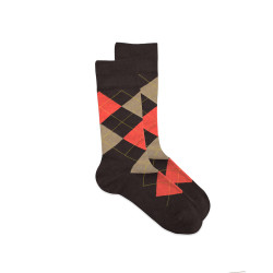 BALLY PREMIUM SOCKS BROWN YMCK39 image here