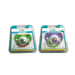 Pur Mister Baby PP Pacifier,violet,14029-1 image here