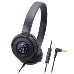 Audio Technica, Street Monitoring Headphones, black, ATH-S100IS BK image here